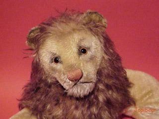 leon lion steiff sutffed